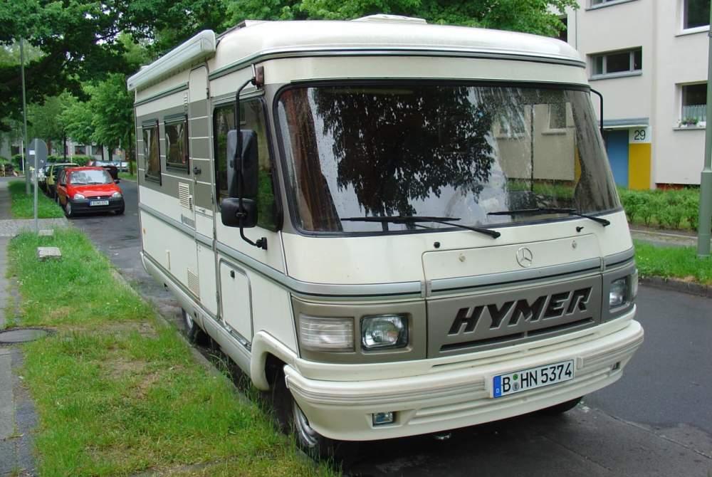 Integraal Hymer Hymi in Berlin huren van particulier
