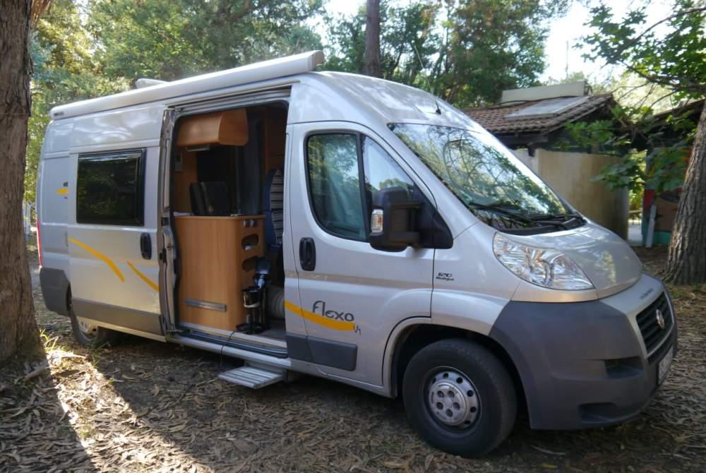 Buscamper Fiat Sunliving in Boostedt huren van particulier