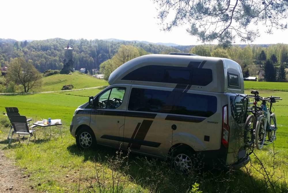 Kampeerbus Ford Paulchen in Erlangen huren van particulier