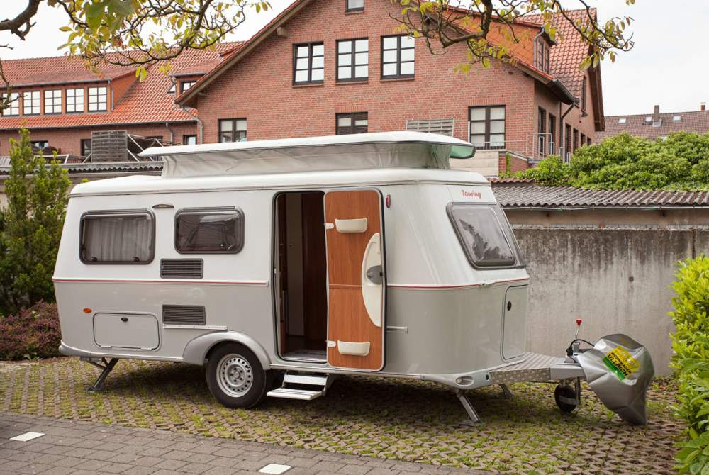 caravan der hyggelige hymer in halle westfalen. Black Bedroom Furniture Sets. Home Design Ideas