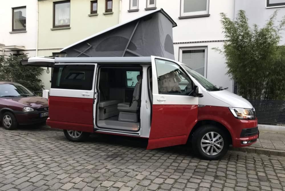 Kampeerbus Volkswagen  Bruno in Bremen huren van particulier