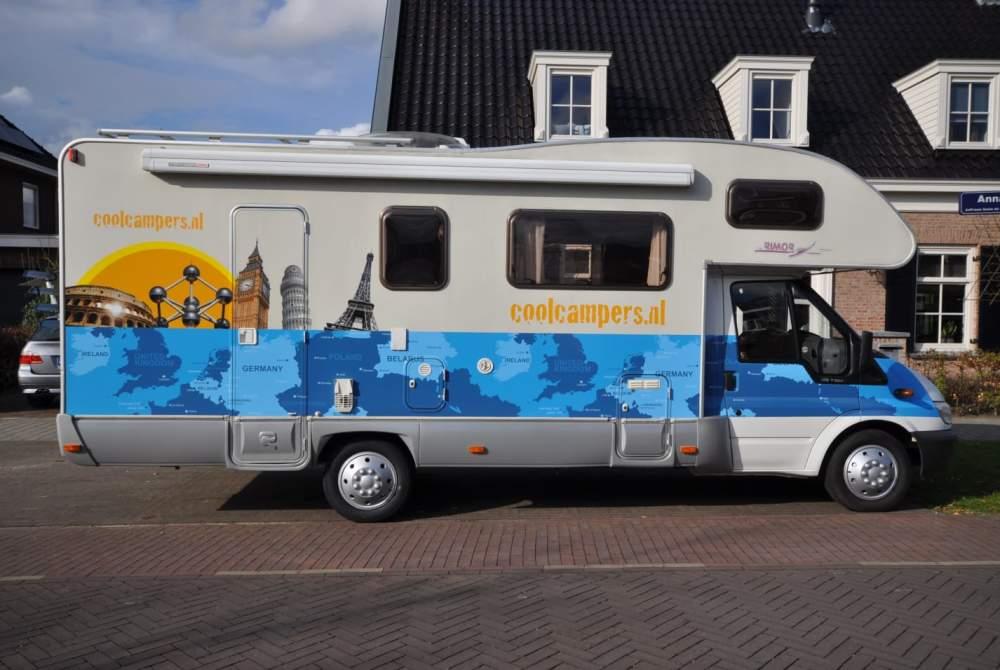 Alkoof Ford Coole family camper in Amersfoort huren van particulier