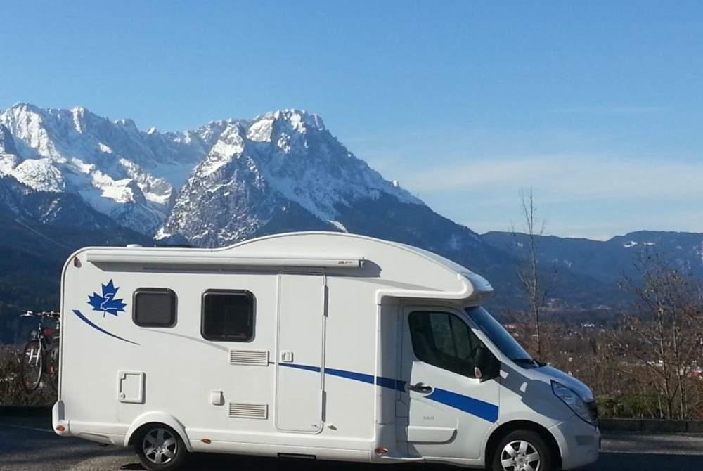 Halfintegraal Renault Master Bender-Mobil in Lauterbach (Hessen) huren van particulier