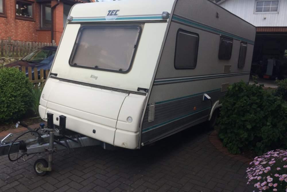 Caravan TEC  WOWA 5 SP Etagenbetten Vorzelt in Delingsdorf huren van particulier